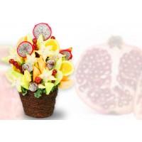 Edible - Dragon Fruit and Starfruit
